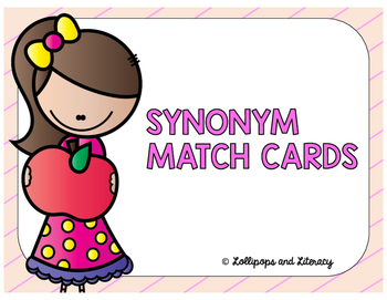 Synonym Match Cards