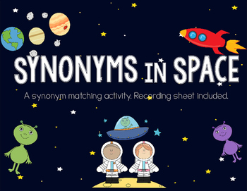 Synonym Matching Activity