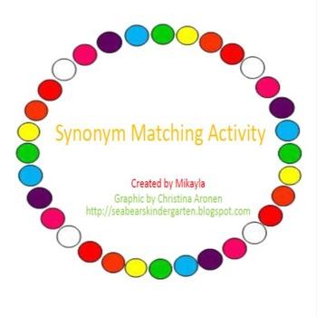 Synonym Matching Game
