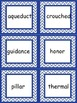 Synonym Matching for Vocabulary Words Atlantis