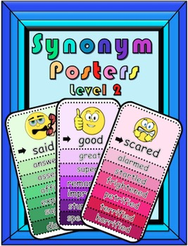 Synonym Posters Level 2