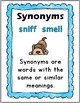 Synonyms Matching Puzzles, Printables, Interactive Flap Bo