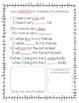 Synonym Roll Match Up an Sentence Work Freebie