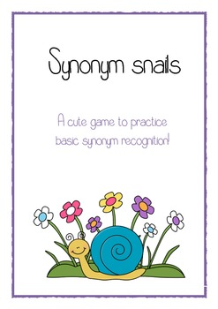 Synonym Snails