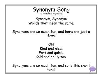 Synonym Song
