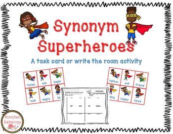 Synonym Superheroes!