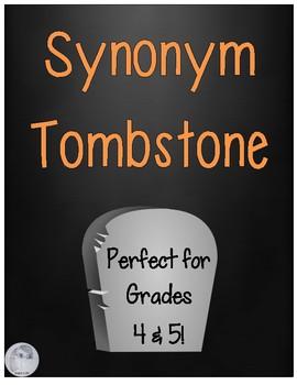 FREE Synonym Tombstones