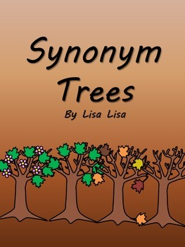 Synonym Trees for Every Season (Fall, Winter, Spring, and Summer)