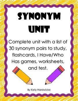 Synonym Unit