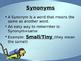 Synonym and Antonym Powerpoint