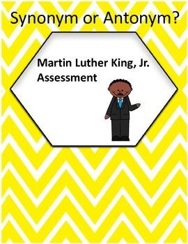 Synonym or Antonym? - Martin Luther King, Jr