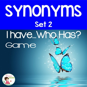 Synonyms Set 2