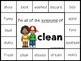 Synonyms, Self-Checking Literacy Centers, Grammar
