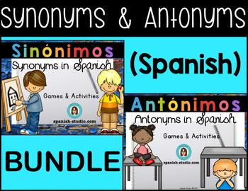 Synonyms & Antonyms BUNDLE (Spanish)