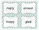 Synonyms & Antonyms - Holiday Theme
