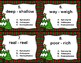 Synonyms, Antonyms, and Homophones Task Cards (Christmas Trees)