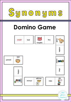 Synonyms Domino Game