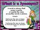 Synonyms , Homophones, and Antonyms Promethean ActivInspir