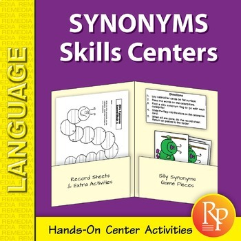 Synonyms: Language Skill Centers