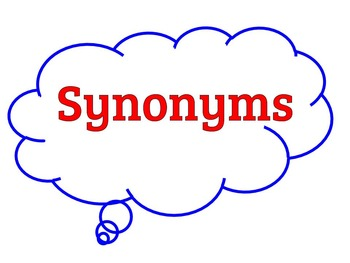 Synonyms Practice and Quizzes for Students with Significan