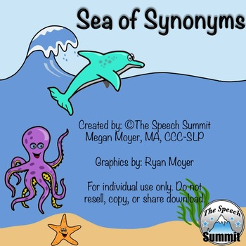 """Synonyms: """"Sea of Synonyms"""""""