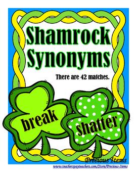 Synonyms - Shamrocks