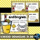 Synonyms and Antonyms- anchor charts, I have who has, prac