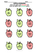 Synonyms and Antonyms Apple Coloring Sheet