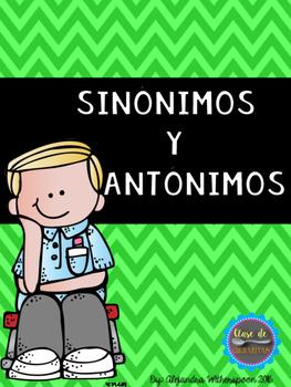 Synonyms and Antonyms/Sinonimos y Antonimos
