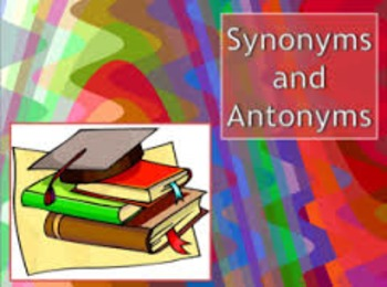 Synonyms and Antonyms Smart Board Lesson (Poems, Videos, S