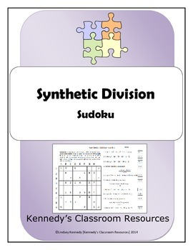 Synthetic Division - Sudoku