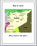 Syria Map Activities