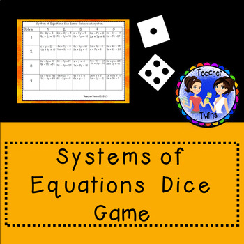 System Of Equations Dice Game