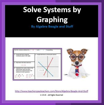 Solving Systems by Graphing Scaffold Notes