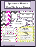 Systematic Phonics Word Sorts and Games