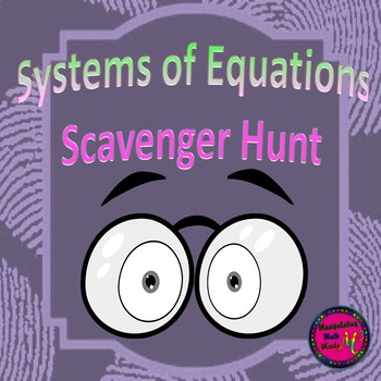 Systems Scavenger Hunt Activity - Great unit or STAAR Review