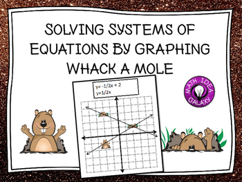 Solving Systems of Equations by Graphing Activity