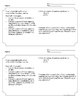 Systems of Equations-Lesson Plan, Activity Sheet, Exit Tic