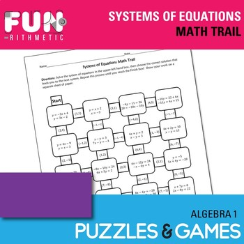 Systems of Equations Math Trail