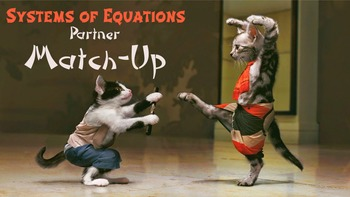 Systems of Equations Partner Worksheets: Substitution and