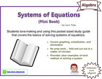 Systems of Equations / Properties of Exponents - Two Pack