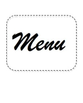 Systems of Equations Word Problems Menu