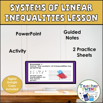 Systems of Linear Inequalities Algebra Lesson