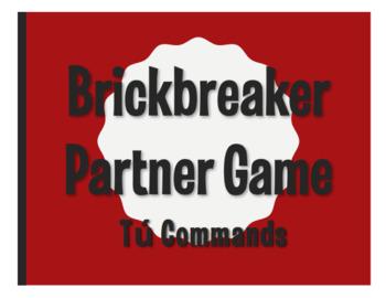 Spanish Tú Commands Brickbreaker Partner Game