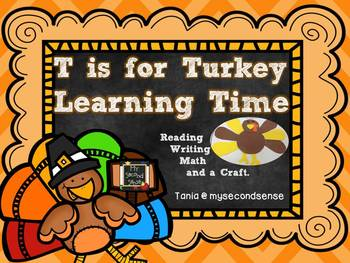 T is for Turkey Learning Time