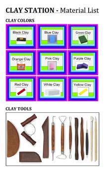 TAB Clay Station Materials