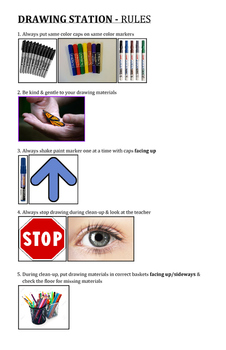 Drawing Station Rules
