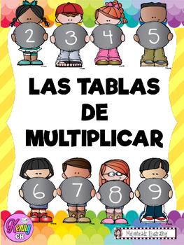 TABLAS DE MULTIPLICAR DEÑ 2 AL 9  PDF
