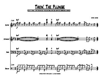 TAKIN' THE PLUNGE - JAZZ COMBO - STAGE BAND - IMPROVISATION