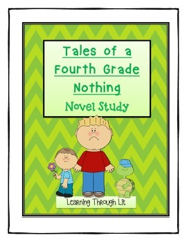 Judy Blume TALES OF A FOURTH GRADE NOTHING Novel Study